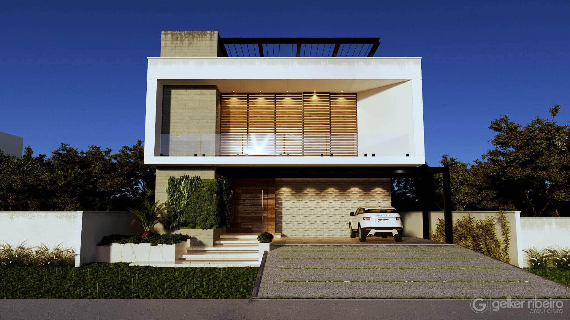 Casa contemporânea - CASA A