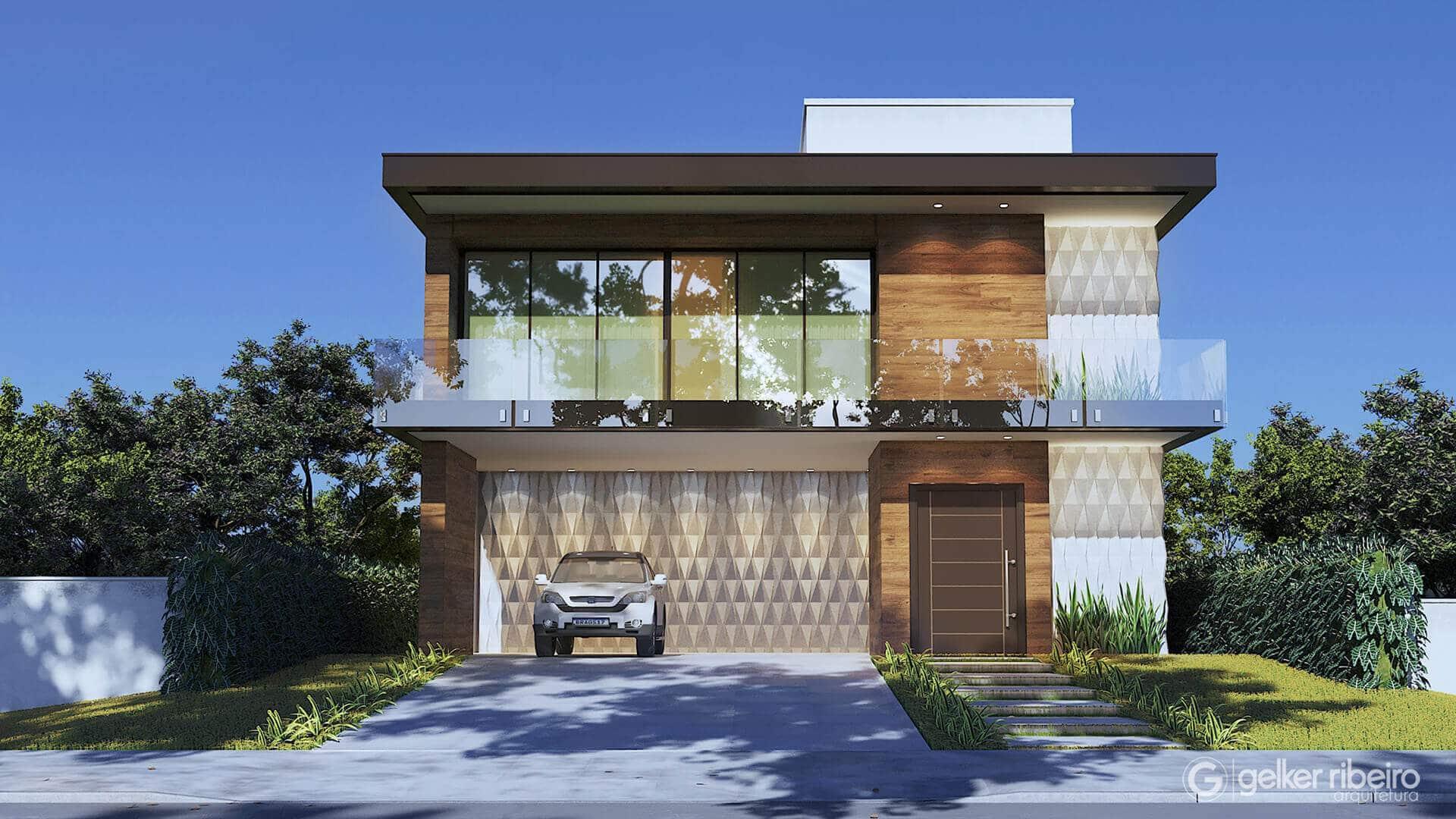 Casa contemporânea -  CASA E