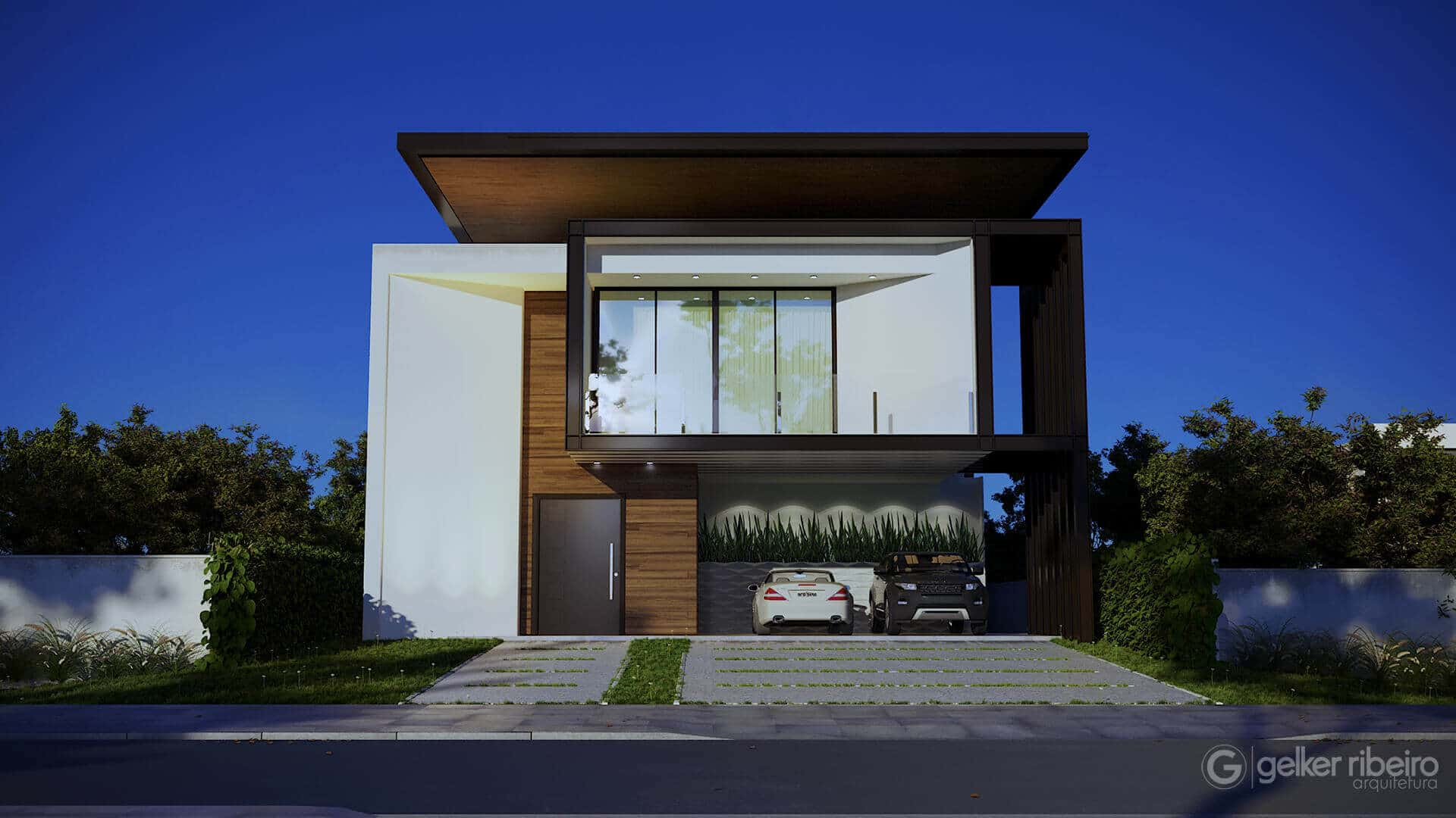 Casa contemporânea - CASA F