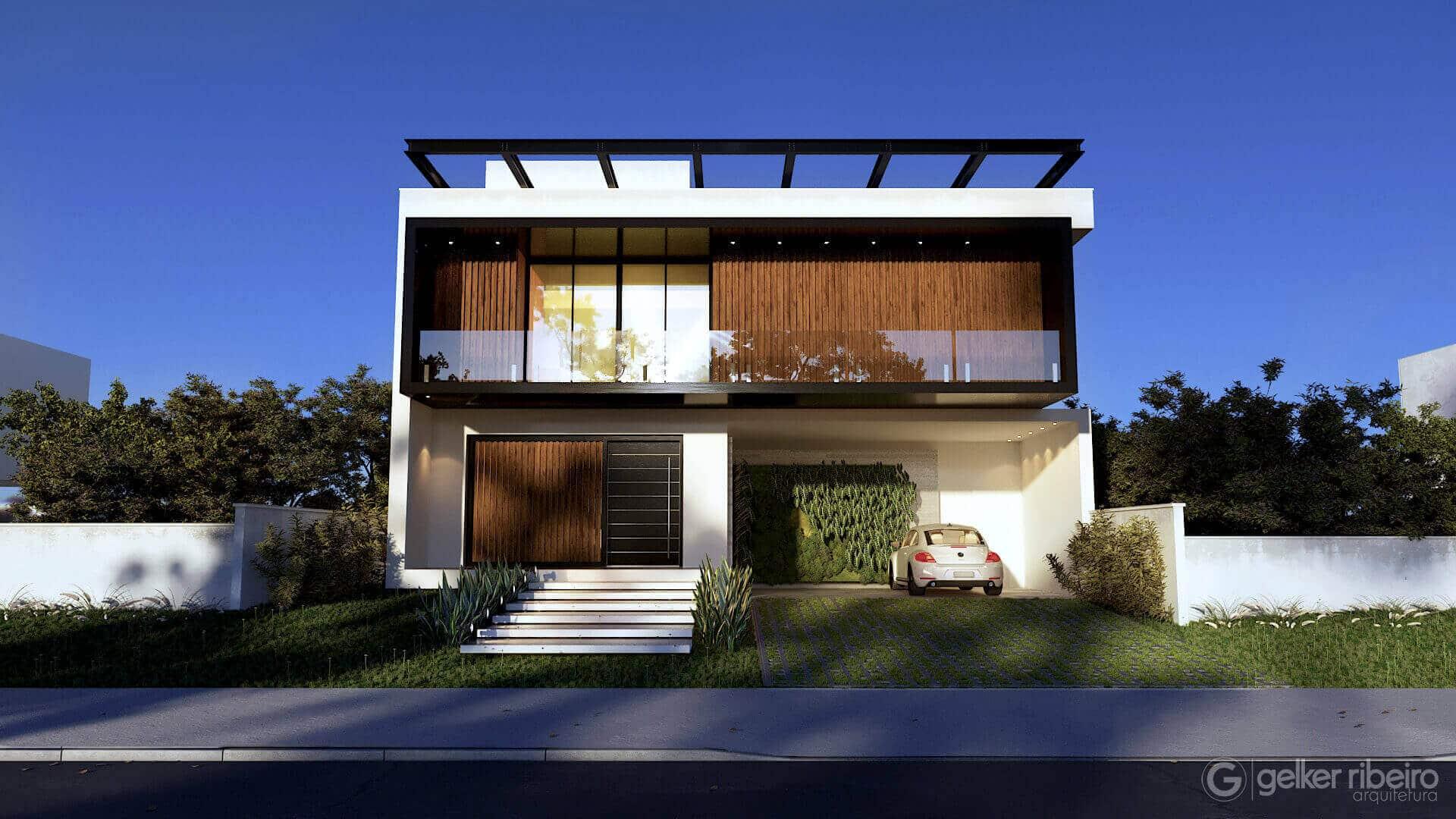 Casa contemporânea CASA D