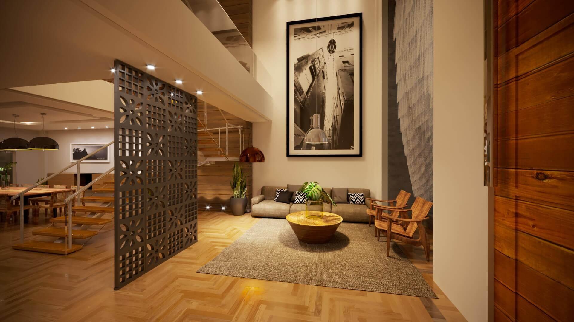Projeto Interior Contemporaneo Pl Gelker Ribeiro Arquitetura
