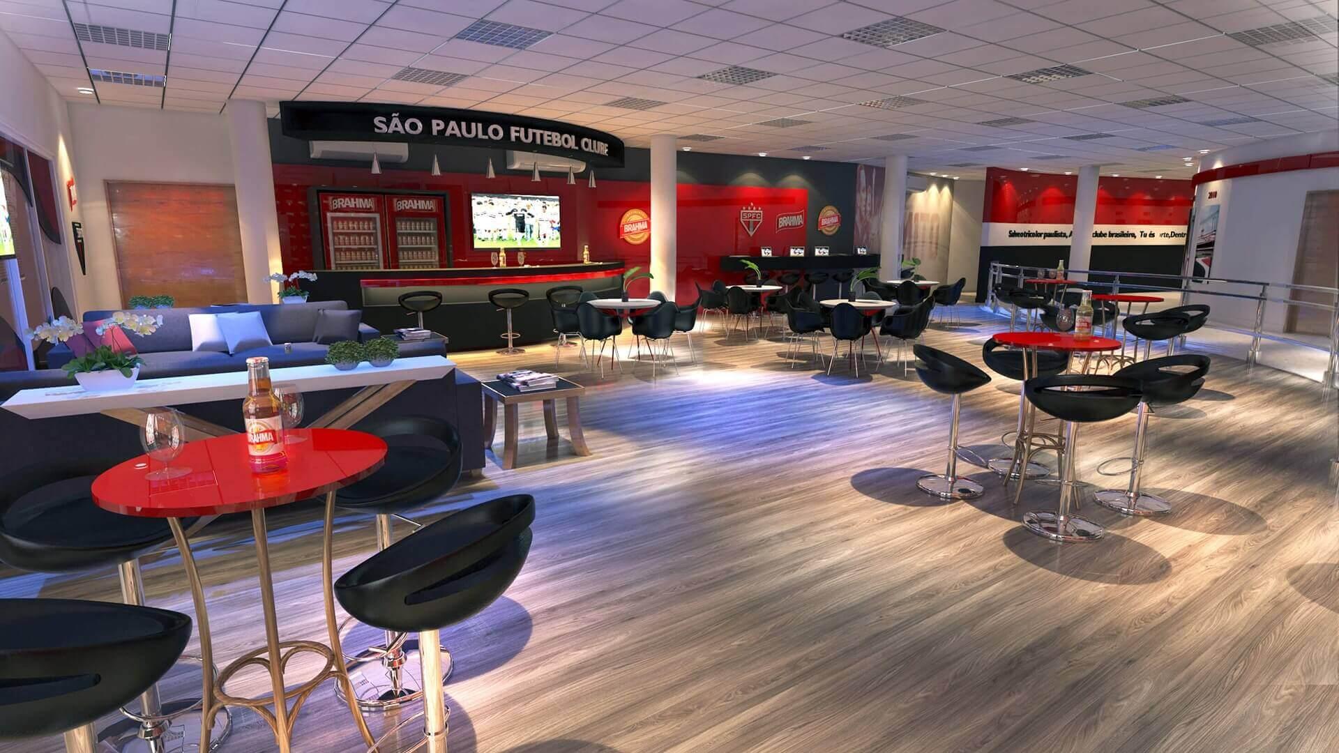 Bar - Sala de Imprensa São Paulo Futebol Clube