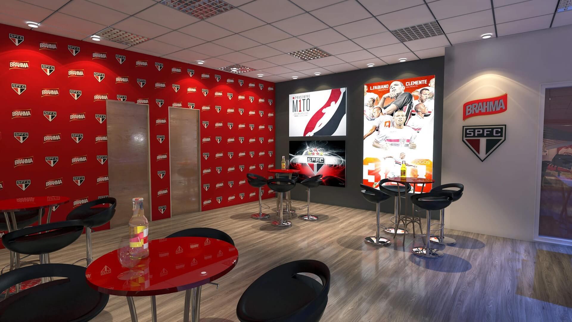 Bar - Sala de Imprensa SPFC