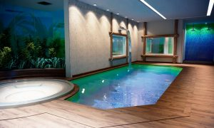 Projeto SPA piscina aquecida Condomínio Golden Green